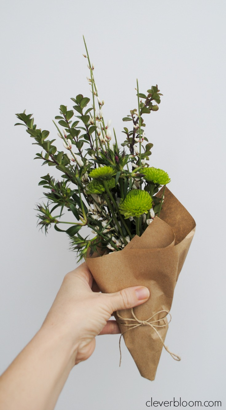 How To Make Tiny Bouquets