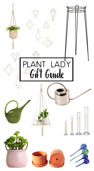 Plant Lady Gift Guide from blogger Clever Bloom - You'll love these affordable items for the plant lover on your list. #plants #houseplants #giftguide #plantlady