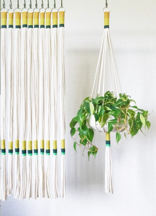 Plant Lover Gift Ideas - House Plant Club Macrame Plant Hanger and more!