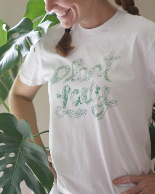 Plant Lover Gifts - Plant Lady Tee by O'Berry's Succulents & More!